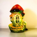 Морской домик Мухомор со светильником